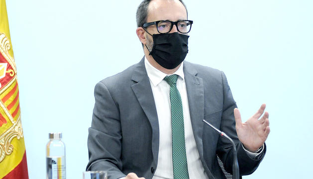 Víctor Filloy, ahir.