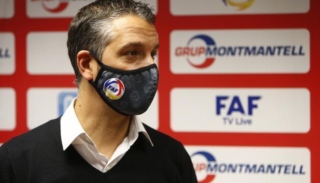 El nou seleccionador nacional de futbol sala, Talín Puyaltó.