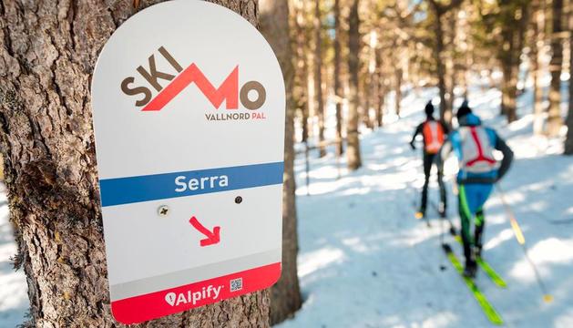Un dels circuits d'esquí de muntanya de Pal.