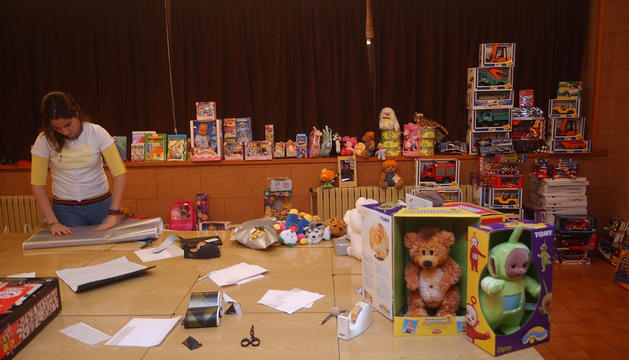 Una campanya de recollida de joguines