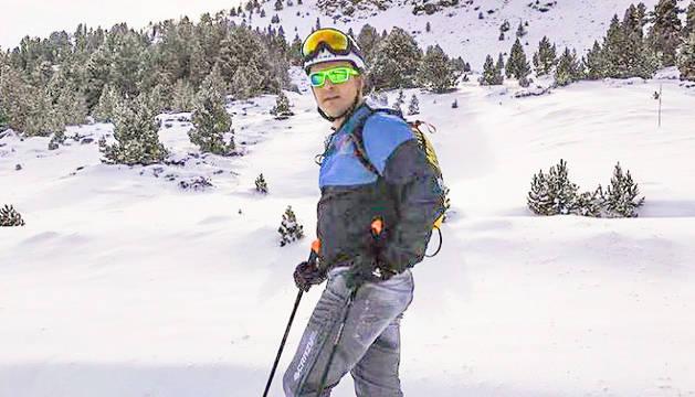 El ministre Gallardo és un gran aficionat a l'esquí de muntanya.