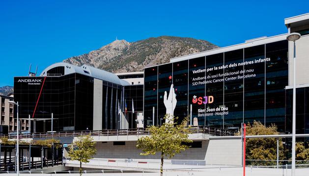 La seu central d'Andbank.