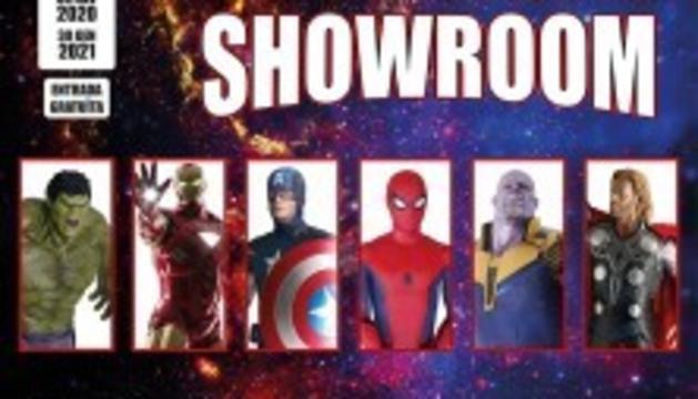Superherois Showroom