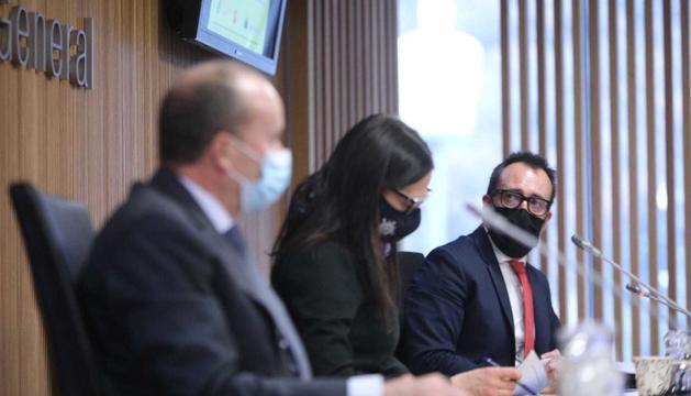 Els ministres Rossell i Filloy davant la comissió