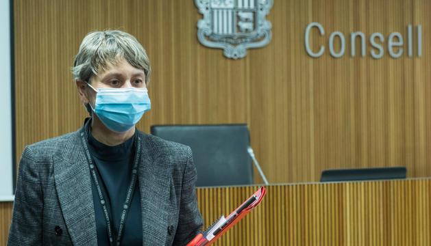 La consellera del PS Susanna Vela
