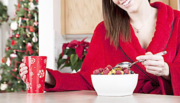 Trucs per alleugerir els àpats de Nadal