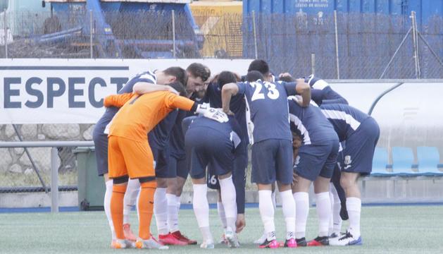 La plantilla de l'FC Santa Coloma és la més valuosa de la lliga.