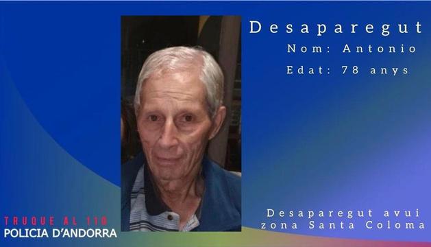 L'home desaparegut, Antonio Teixeira Pinto.