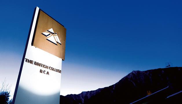 El British College d'Andorra.