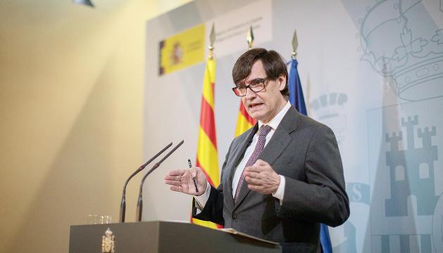 El ministre de Sanitat espanyol, Salvador Illa.