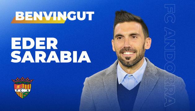 Eder Sarabia és el nou entrenador de l'FC Andorra