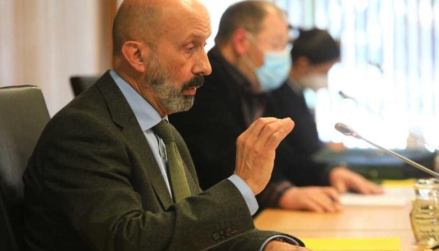 El ministre de Salut compareix a la comissió de Sanitat del Consell
