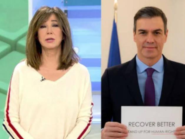 La presentadora ha carregat contra el president espanyol.