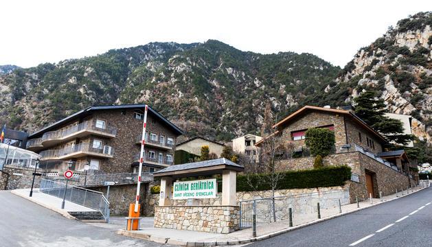 La residència de Sant Vicenç d'Enclar.