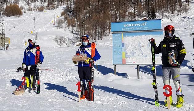 Àlex Rius en el tercer lloc