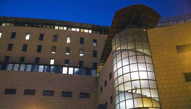 La façana de l'hospital de Meritxell.
