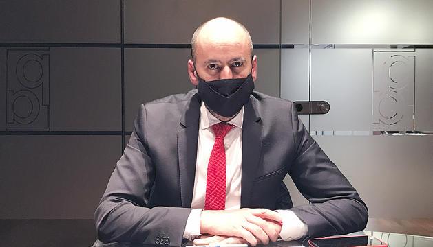 El nou president de l'APBI, Artur Homs, a les instal·lacions del Diari.
