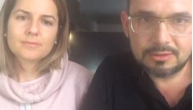 María Martínez i la seva parella, Javier