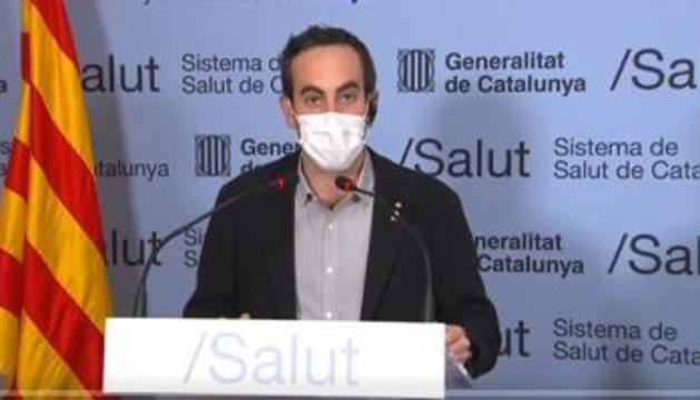 El secretari general de Salut català, Marc Ramentol