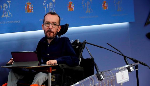El portaveu d'Unides Podem, Pablo Echenique.