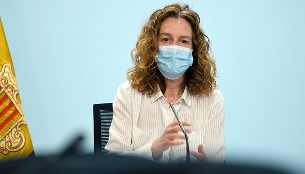 La ministra de Medi Ambient, Agricultura i Sostenibilitat, Sílvia Calvó