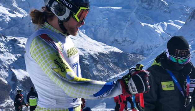 Matías Vargas va guanyar ahir el supergegant FIS d'Andorra.