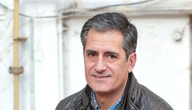 L'escriptor Lluís Prats, guanyador del darrer Premi Carlemany.