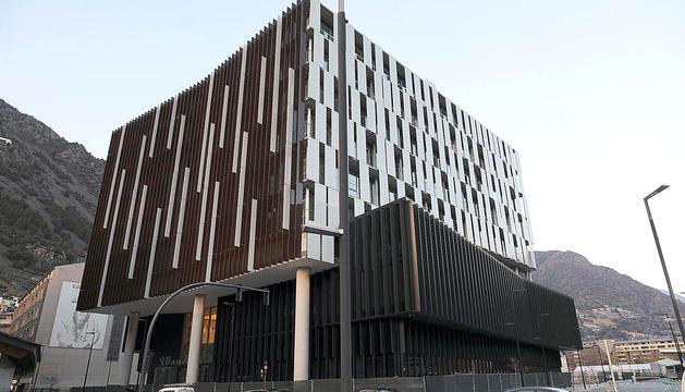 L'edifici de la Seu de la Justícia.