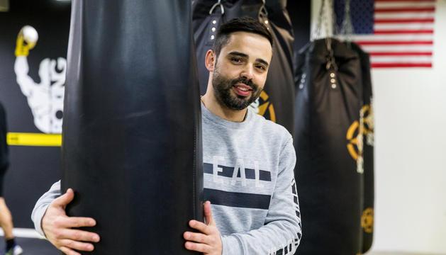 Bruno Modesto, a les instal·lacions del gimnàs First Round d'Escaldes-Engordany.