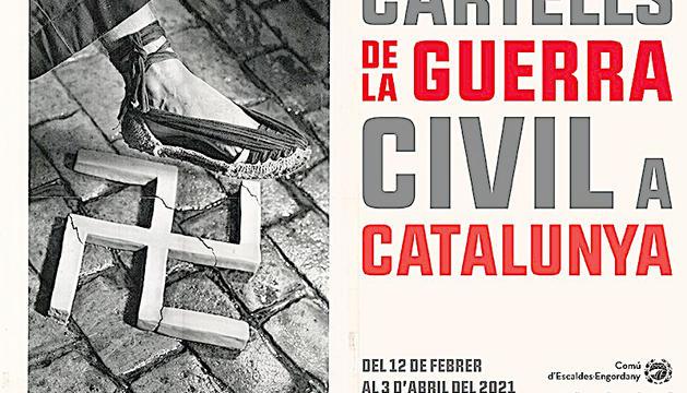 Exposició de cartells de la Guerra Civil espanyola