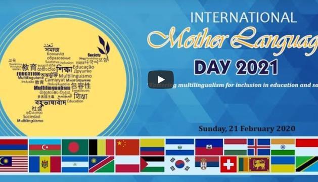 El portal dedicat al Dia internacional de la llengua materna.