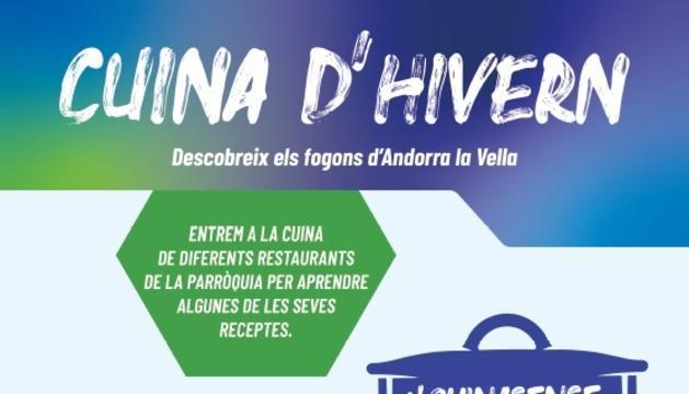 El cartell de la nova edició de 'Cuina sense pares'.