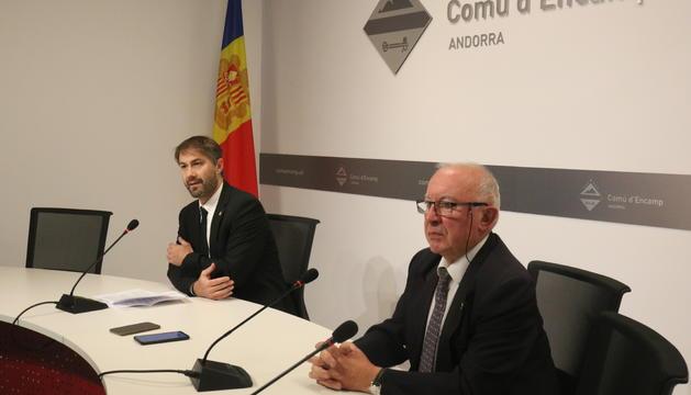 David Ríos i Enric Riba