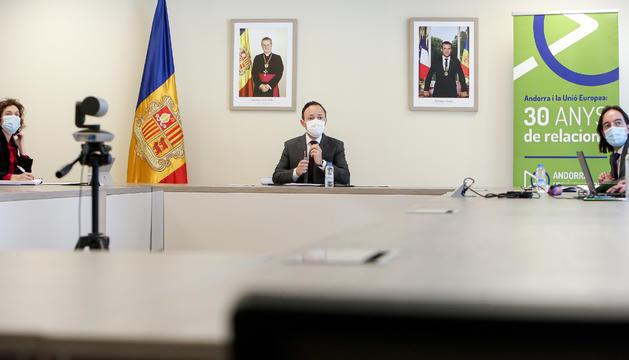 Espot ha presidit la trobada