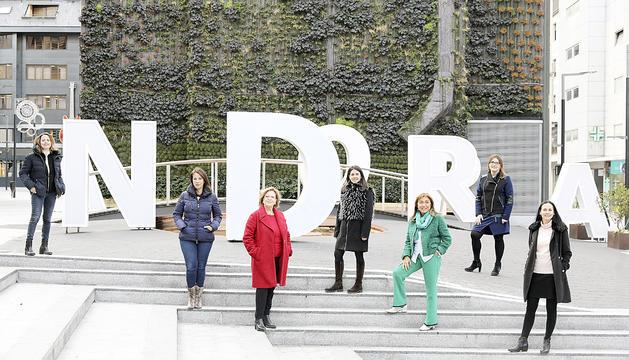 Les dones candidates a cònsol major les eleccions comunals passades.