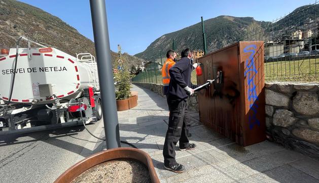 Encamp demana 19.000 euros per les pintades