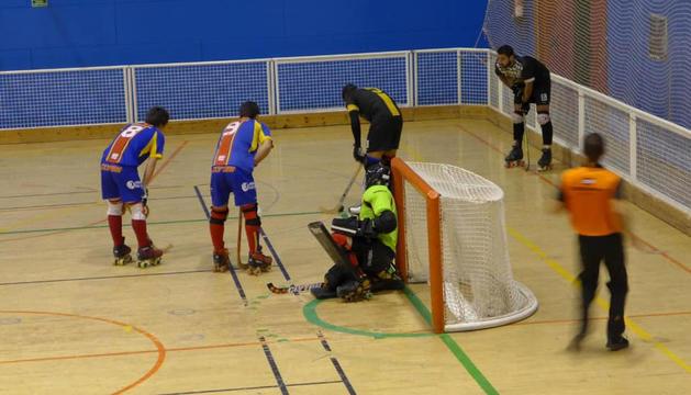 L'Andorra HC, durant un partit de la temporada passada.