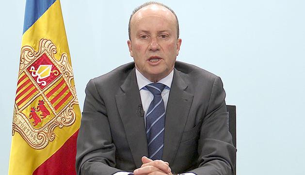 El ministre Josep Maria Rossell