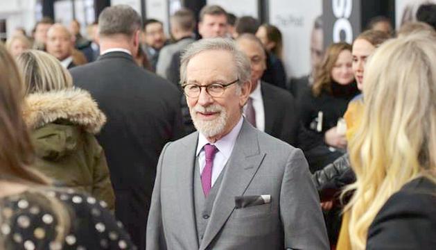 El director de cinema Steven Spielberg.