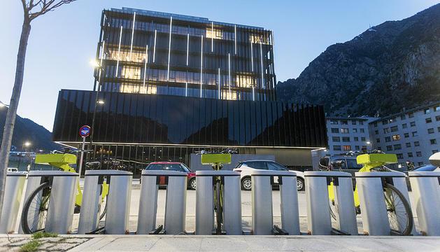 La façana de la Seu de la Justícia.