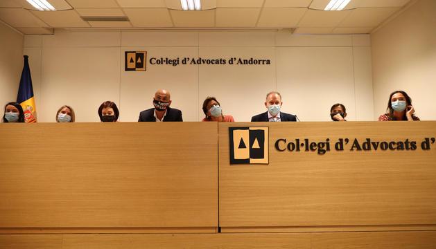 La Junta de Govern del Col·legi d'Advocats.