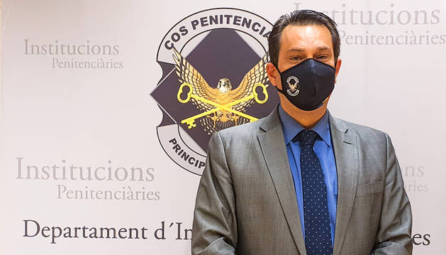 El director del centre penitenciari de la comella, Miquel Àngel Garcia