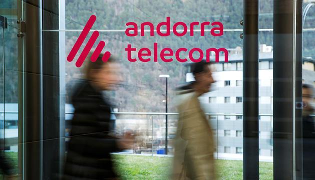 L'edifici Nexus d'Andorra Telecom, a Santa Coloma.