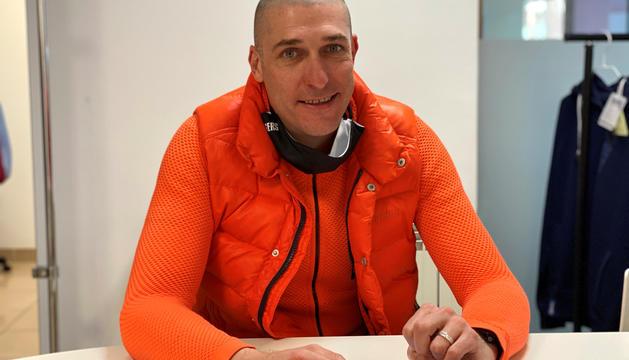 El nou president de la Federació Andorrana de Triatló, Joan Saludes.