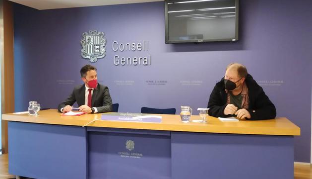 Pere López i Jordi Font.