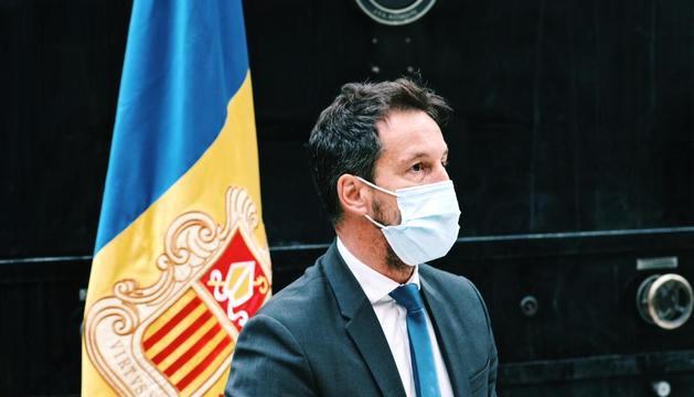 El president del PS, Pere López.
