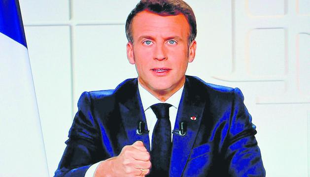 El president de França i Copríncep, Emmanuel Macron.
