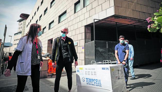 Andorra rep 30.000 vacunes a través del projecte Covax.