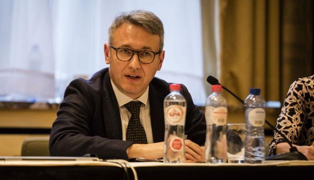 L'alt responsable de l'Agència Europa del Medicament, Marco Cavaleri.