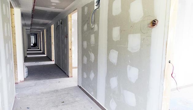 Les dependècies on aniran les habitacions dels alumnes i la zona de bany.